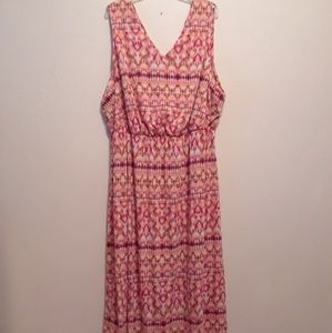 BOHO Maxi Tank Dress by Faded Glory size 4X